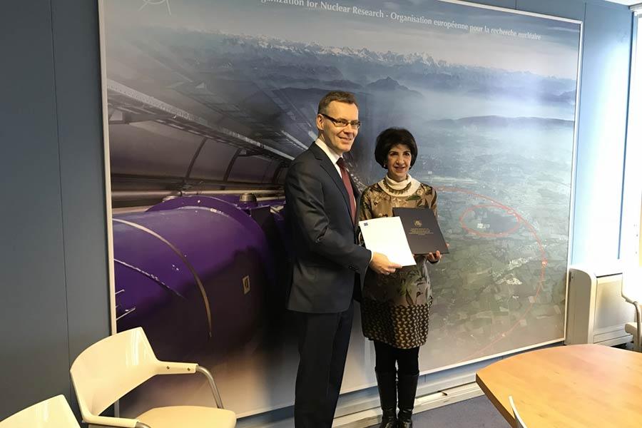Lietuva – asocijuota CERN narė