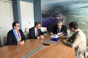 Establishment of Business Incubation Centre (BIC) Agreed between CERN and Lithuania
